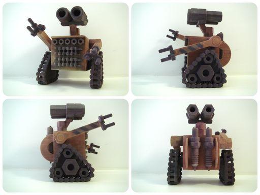 Робот Валли 3D модель в системе ДЕКСМА