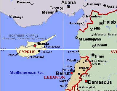 Кипр Сирия