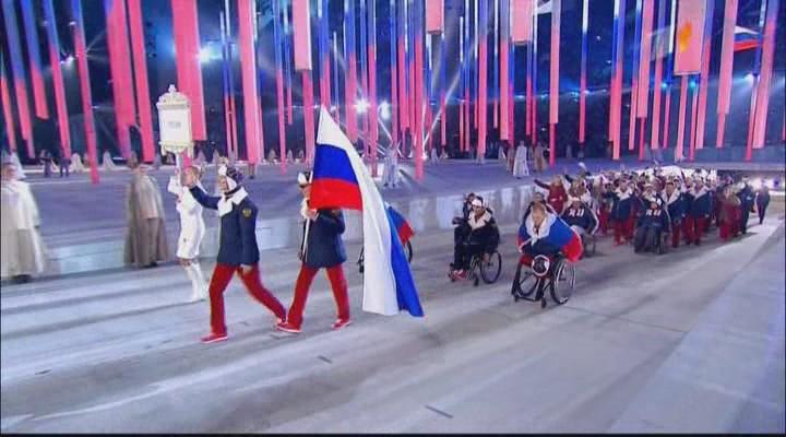 Церемония открытия XI зимних Паралимпийских игр в Сочи (2014) SATRip