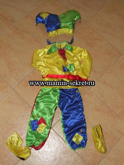Окончательный вариант костюма Петрушки