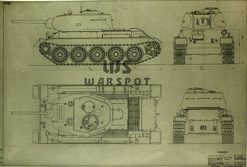 Т-43 - средний танк (1942 г.), опытный A9Vtz