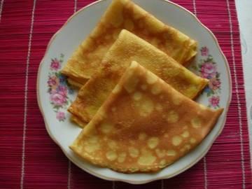 Рецепт блинов с тыквой