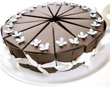 шоколадный торт бомбоньерка