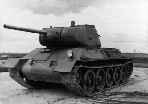 Т-43 - средний танк (1942 г.), опытный Xpta0