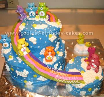 care bears торт