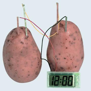 TinyDeal: Супер!!!!! Часы работают от обычной картошки