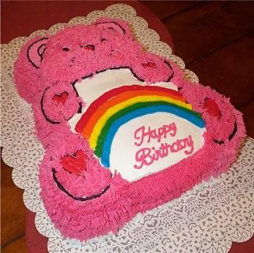 Делаем тортик care bears cake