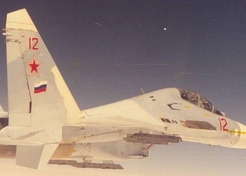 Су-27УБ (Т10У) - учебно-боевой самолёт P1v2g