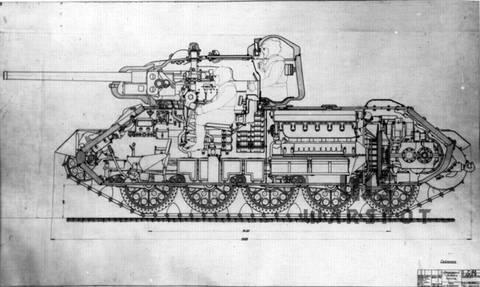Т-43 - средний танк (1942 г.), опытный PLGYl