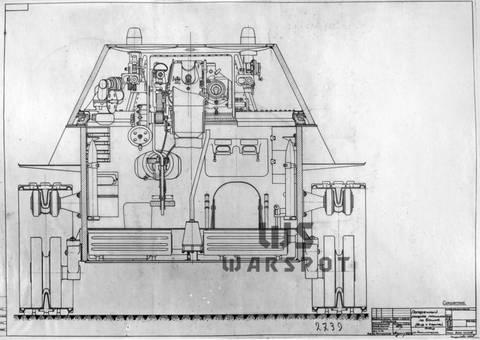 Т-34-М (А-43) - модернизированный средний танк Т-34 (1941 г.) U2Epo