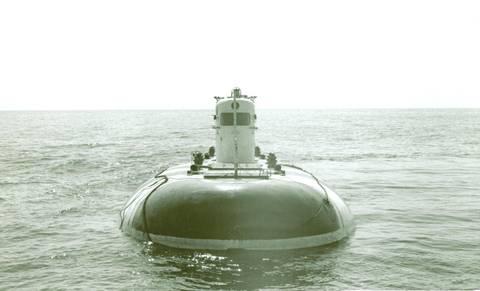 Проект 1906 «Поиск-6» - глубоководный аппарат батискаф (батискаф) Upx2w