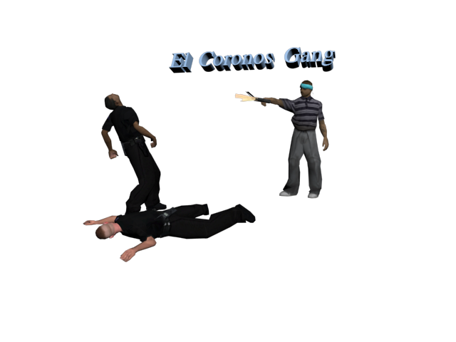 El Coronos Gang | Стрельба по пингу  TGMvK