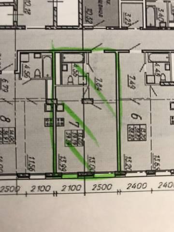 Возможна ли такая планировка однушки 39,39 кв